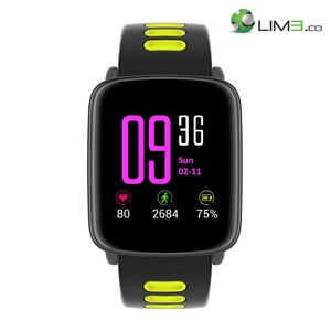 Kingwear GV68 Waterproof Android iOS Bluetooth Heart Rate Monitor Camera Smartwatch