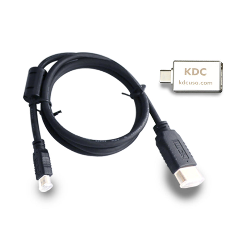 MICRO HDMI CABLE + USB-C ADAPTER - KDCUSA Inc.
