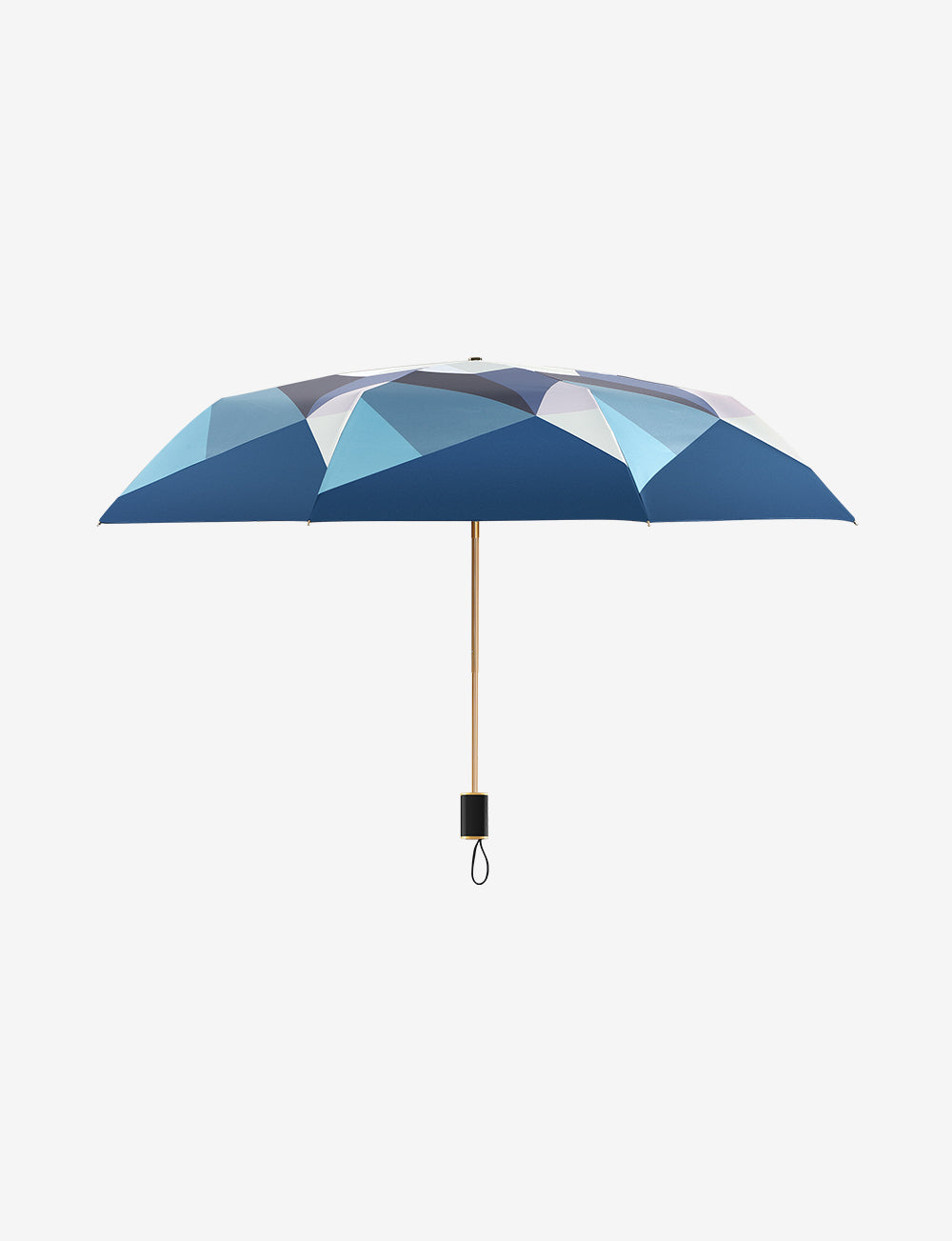 UV Compact Umbrella Crystal Pattern