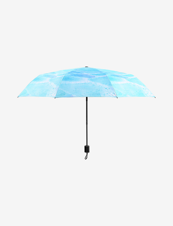 UV Protection Compact Umbrella Dreamy Blue