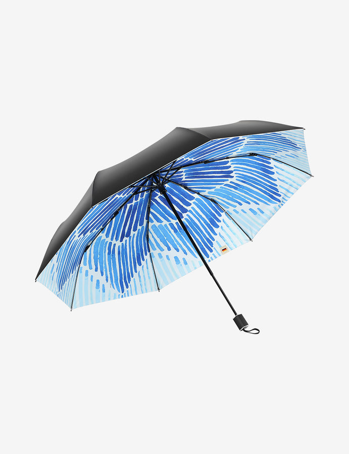 UV Protection Compact Umbrella Watercolors