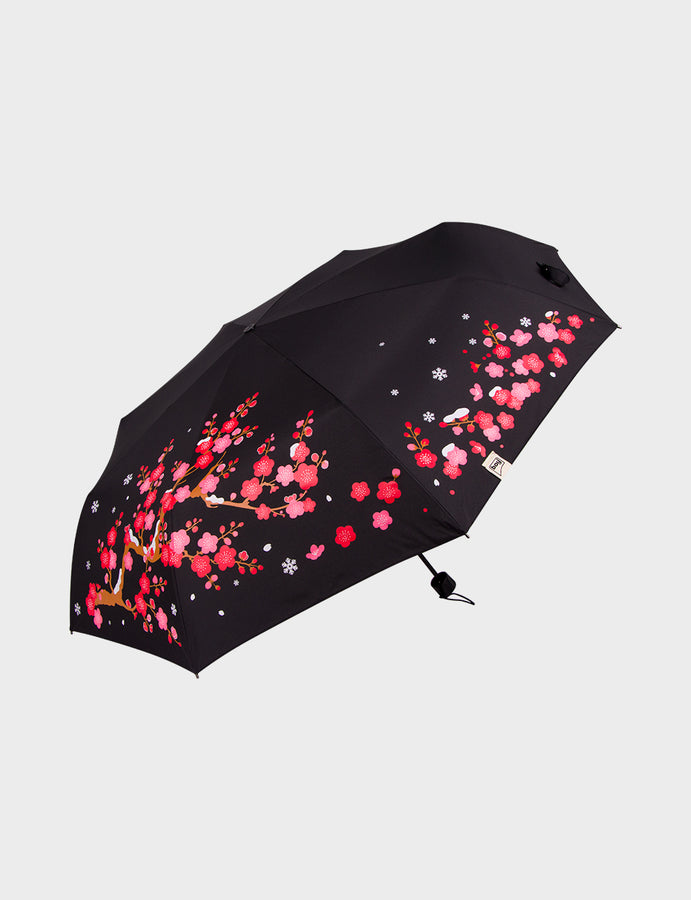 Flower Pattern Travel Umbrella
