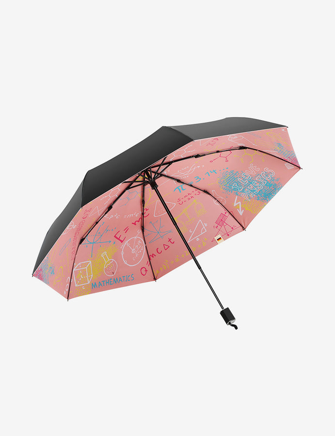 Graffiti UV Protection Compact Umbrella