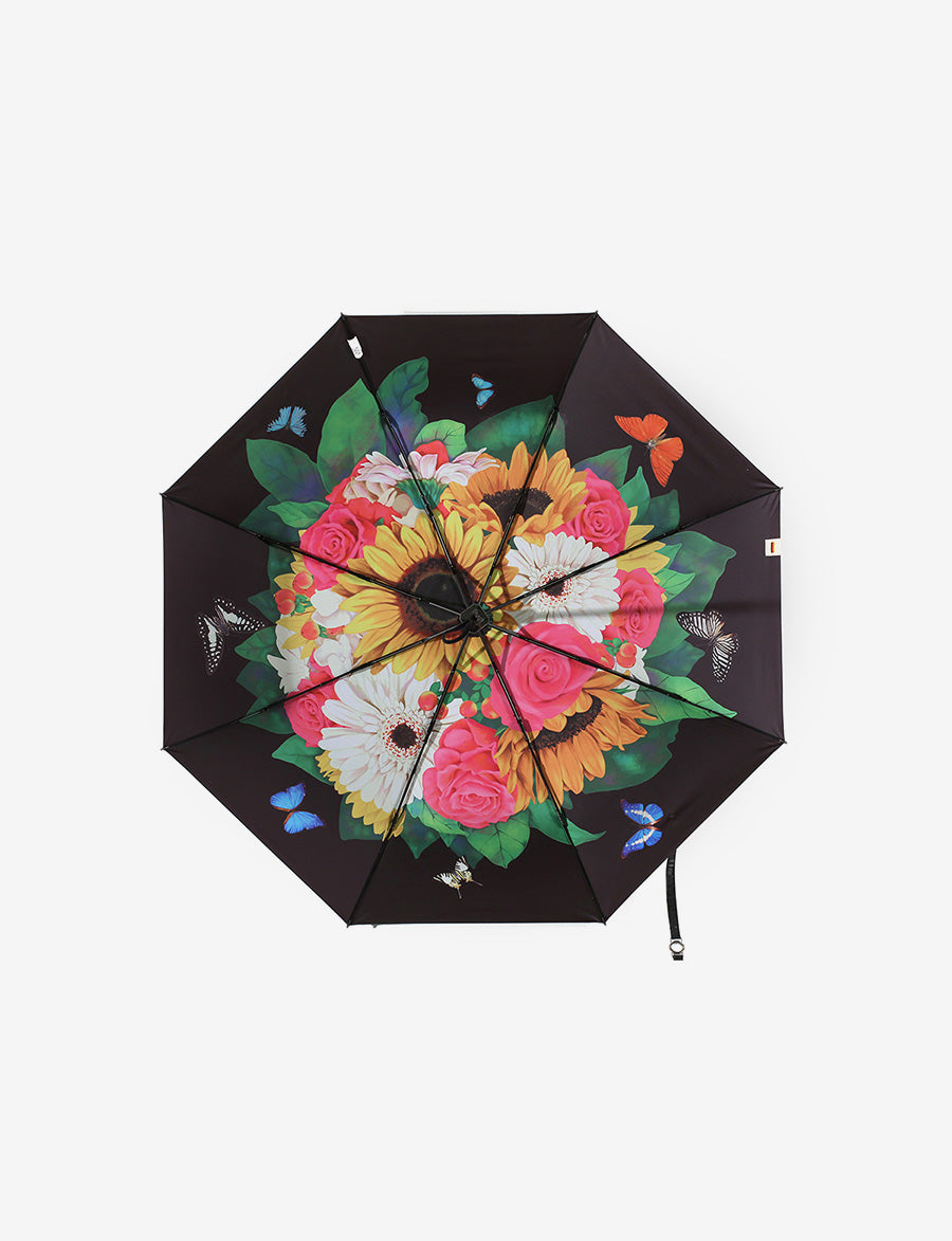 Floral Sun-proof Travel Umbrella