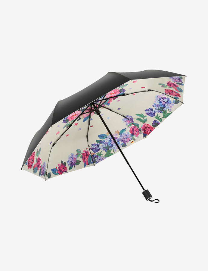 UV Double Canopy Folding Umbrella