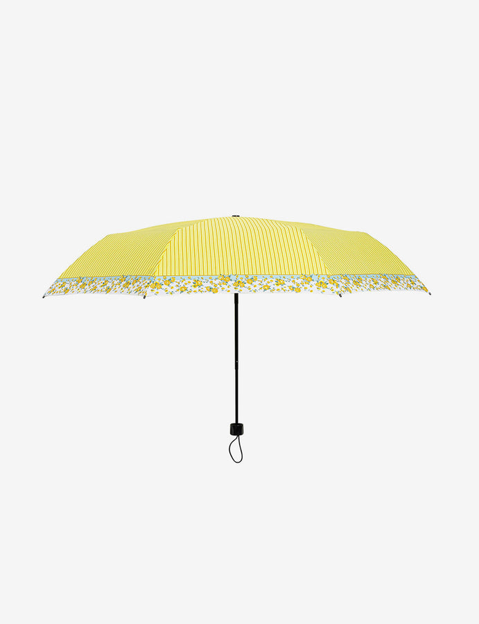 Flowery Compact Travel Umbrella