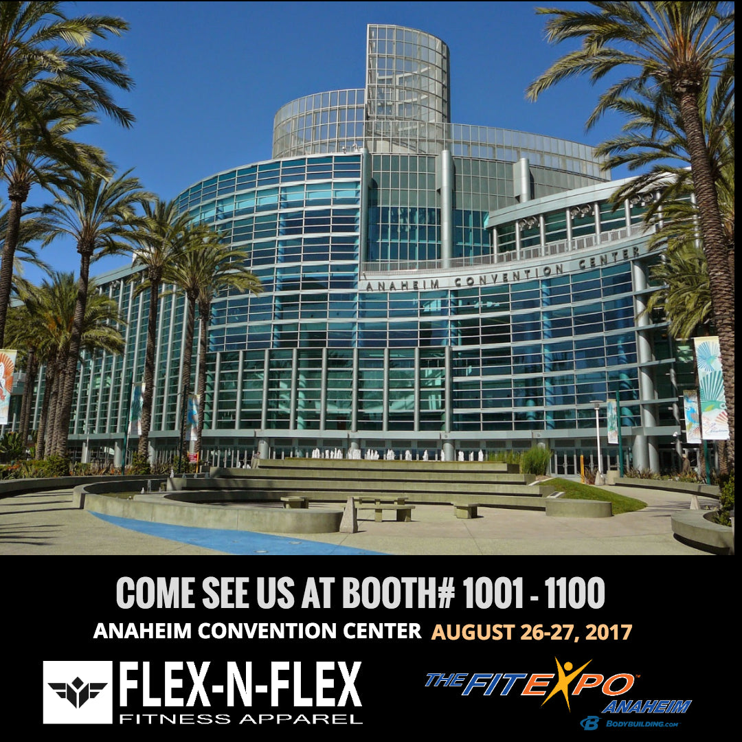 THE FIT EXPO ANAHEIM, AUGUST 26-27, 2017. ANAHEIM CONVENTION CENTER