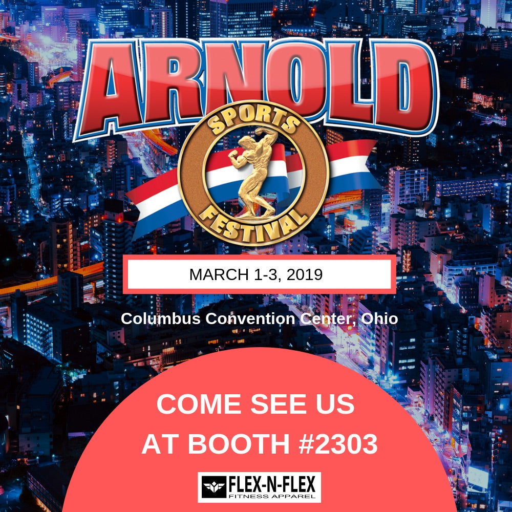 Arnold Classic Expo - Columbus Ohio March 1-3, 2019