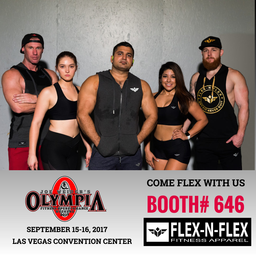 MR. OLYMPIA EXPO SEPT. 15-16, 2017