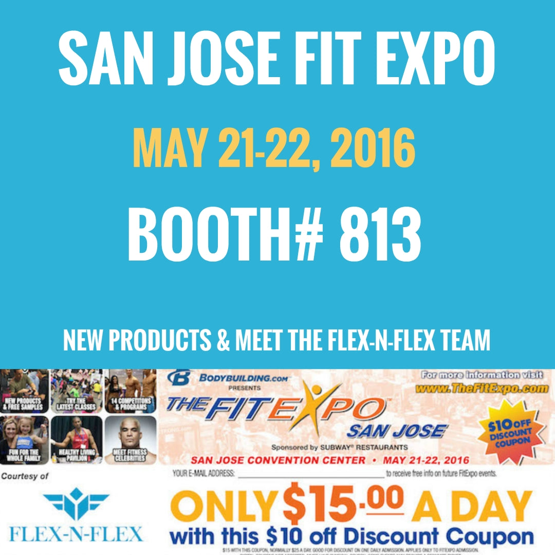 San Jose Fit Expo May 21-22, 2016