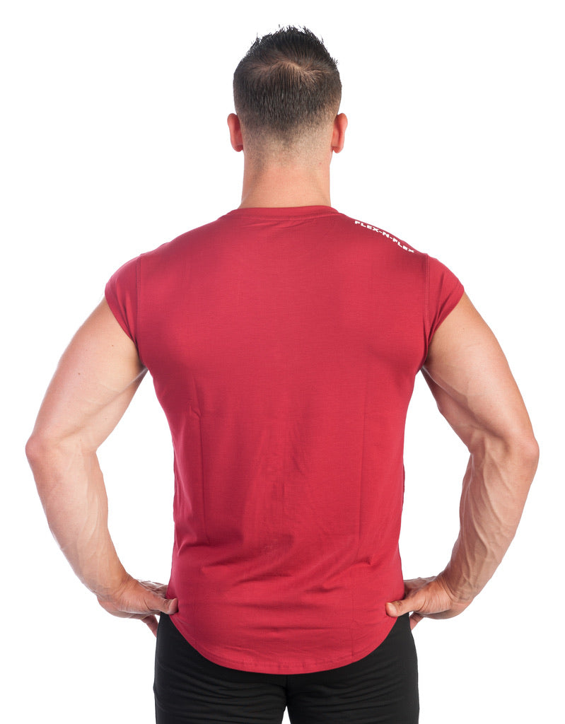 ESSENTIAL DROP SHOULDER T-SHIRT - FLEX-N-FLEX