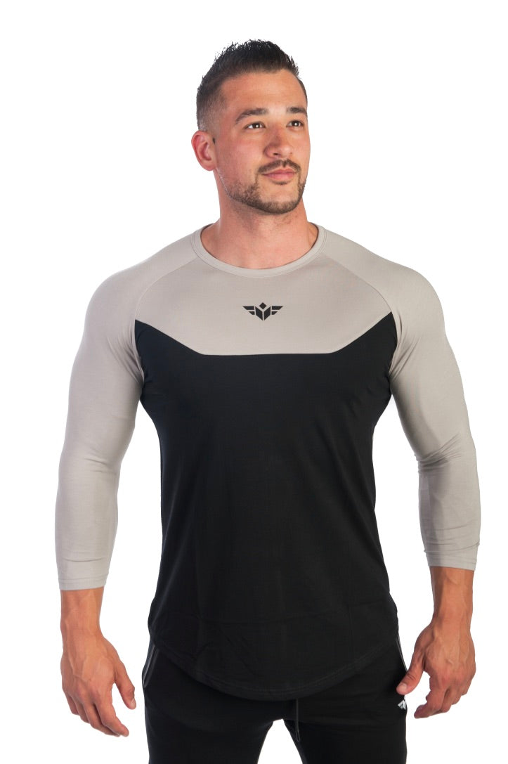 ESSENTIAL 3/4 SLEEVE T-SHIRT - FLEX-N-FLEX