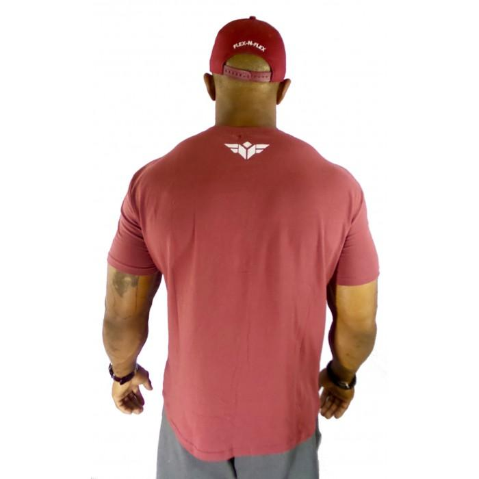 FLEX-N-FLEX V-NECK T-SHIRT - FLEX-N-FLEX