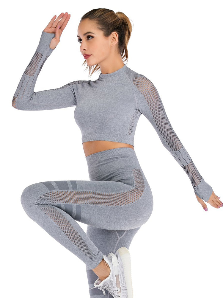 FLEX TRAINING SEAMLESS CROP TOP