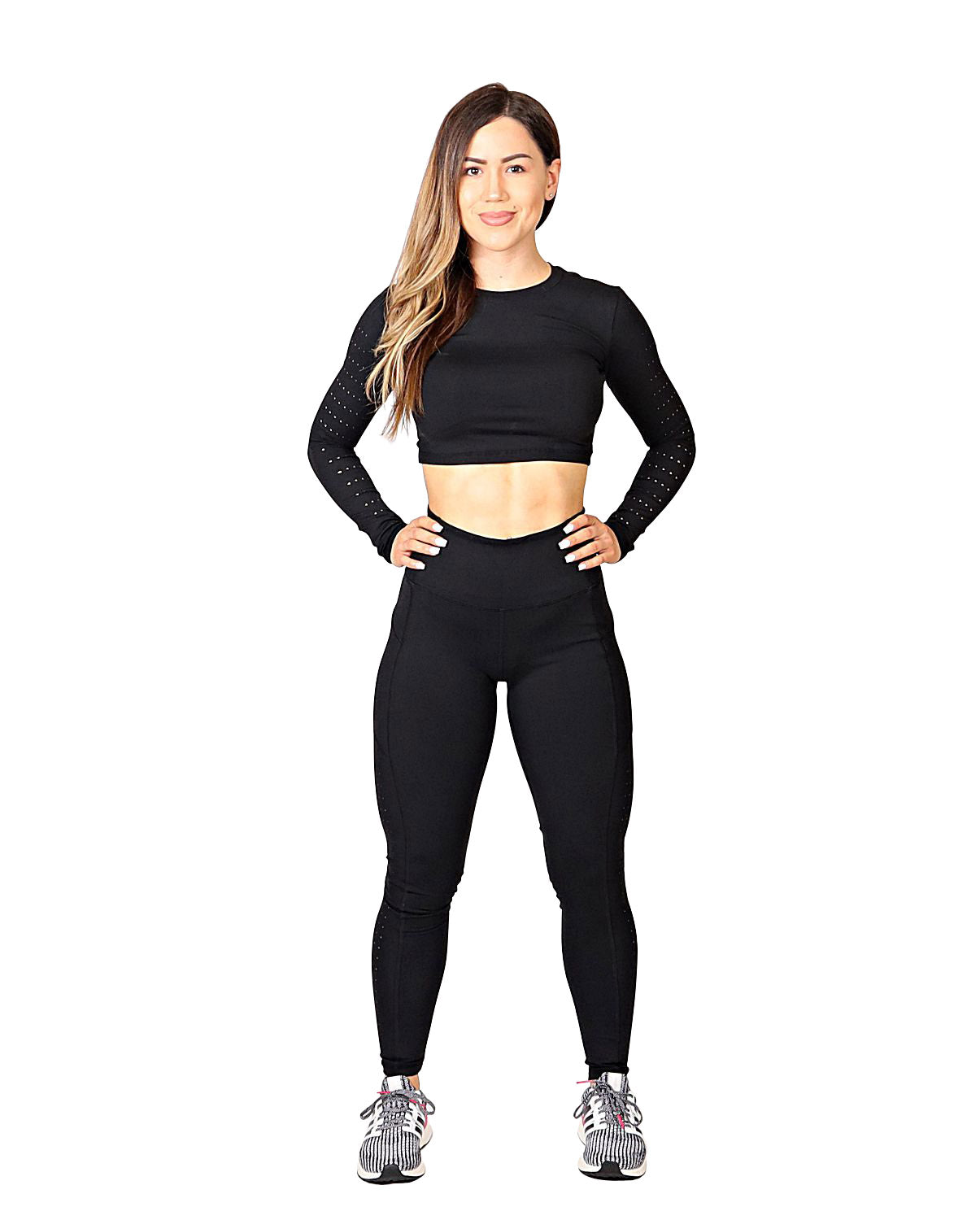SCULPT LASER CUT LEGGINGS - FLEX-N-FLEX
