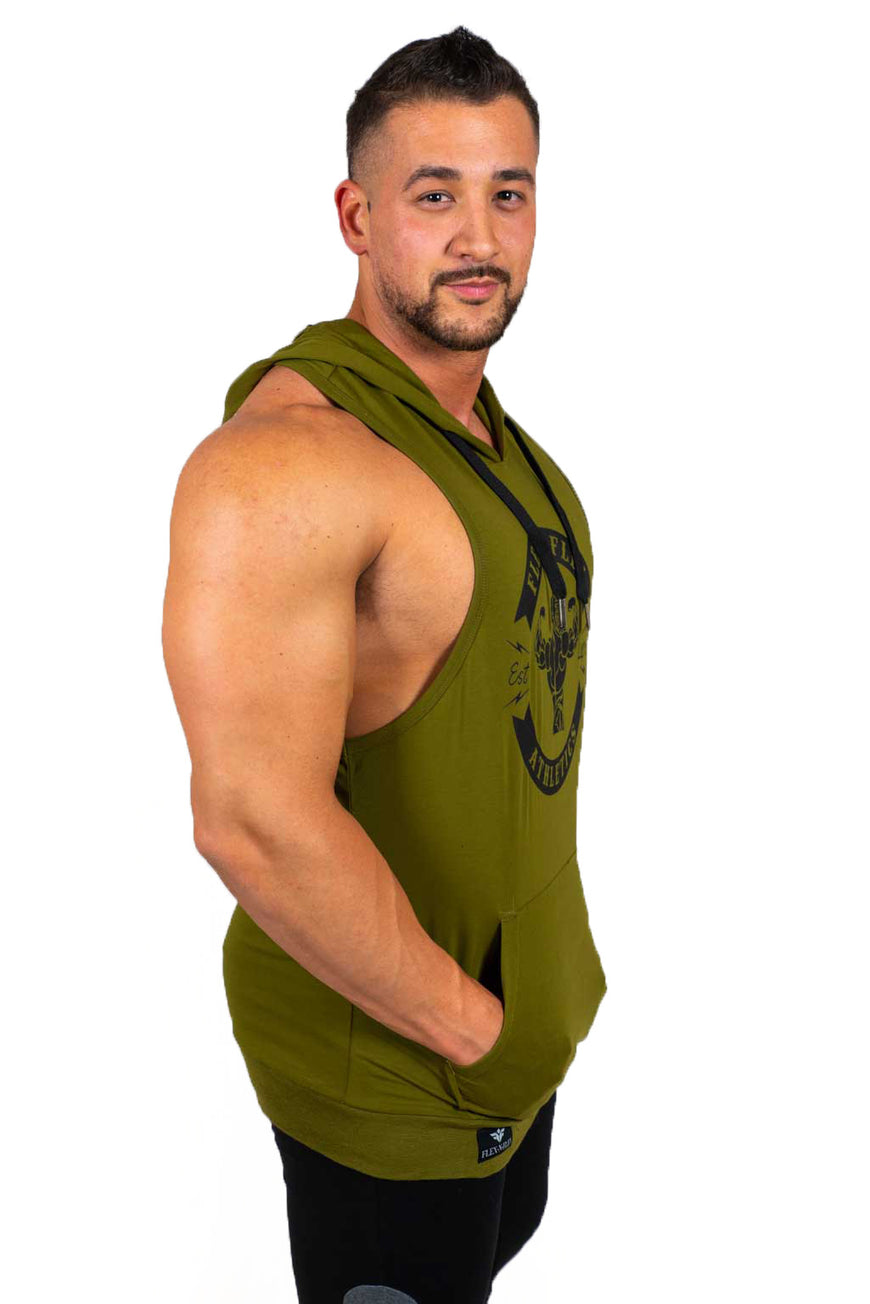 MASCOT ATHLETICS STRINGER HOODIE - FLEX-N-FLEX