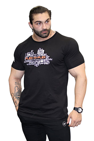 FITNESS MOTIVATION TEE - FLEX-N-FLEX