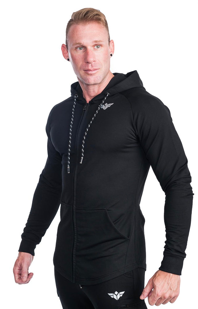 PRIME ZIP FULL SLEEVES HOODIE - FLEX-N-FLEX