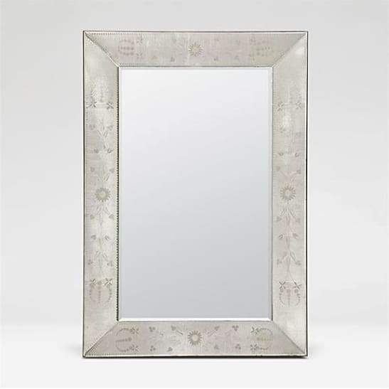 Antique Venetian-Style Mirror, Coastal & High Rise, Rectangle Mirror, contemporary coastal décor, coastal furnishings, contemporary coastal décor, modern coastal décor - Coastal & High Rise