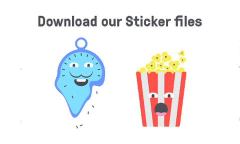 Download our Sticker Files