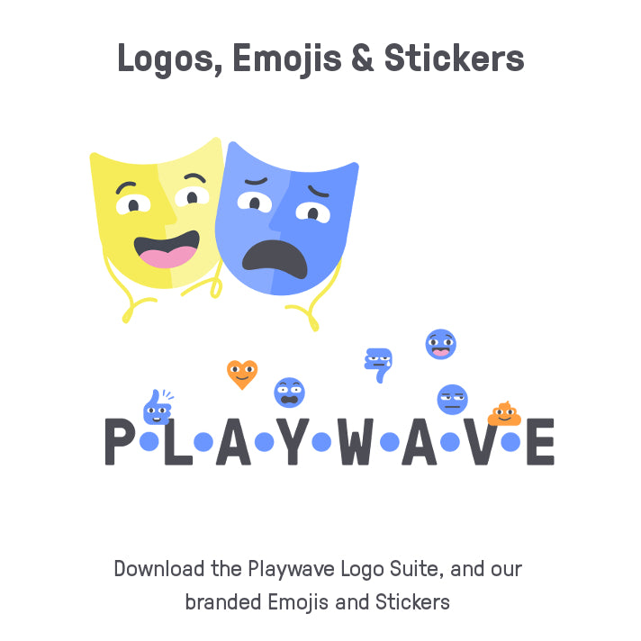 Logos, Emojis and Stickers