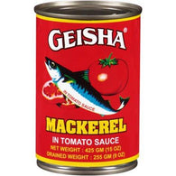 Geisha Mackerel (15oz)/425g-Canned Goods-Geisha-bifastore