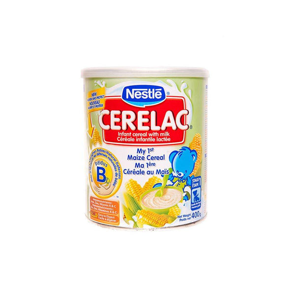Cerelac Maize Baby Formula (400g)-Powdered Beverages-Nestle-bifastore