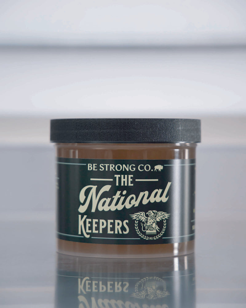 The National Keepers x Be Strong Co. Pomade