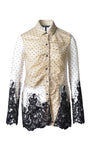 FELICITY SLEEVED CHENILLE EMBROIDERED SHIRT - xllullan