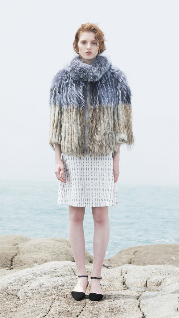 Fox/Coyote Fur Cape - xllullan