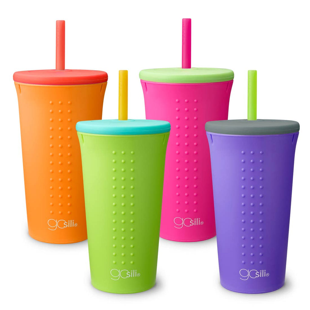 GoSili 16 oz Straw Cup - Choose Color