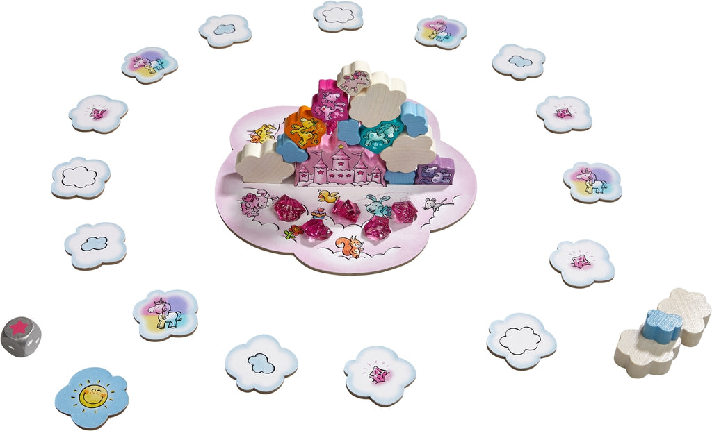 Unicorn Glitterluck - Cloud Stacking (Ages 4+)