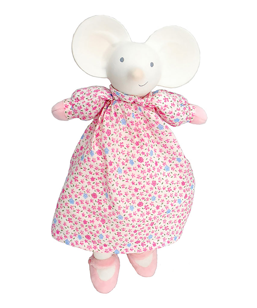 Meiya the Mouse Soft Toy Teether