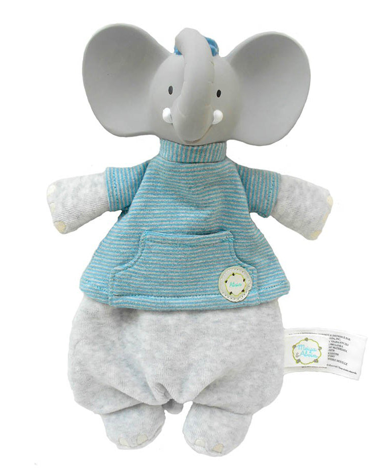 Alvin the Elephant Soft Toy Teether