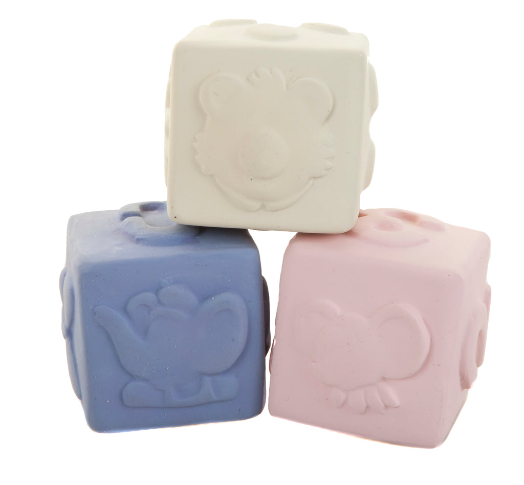 Meiya & Alvin Rubber Blocks - Set of 3