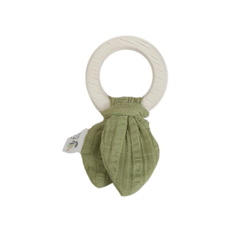 Tikiri Safari Teething Ring - Green