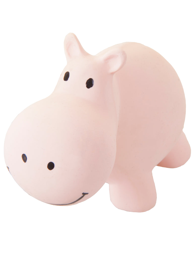 Hippo - My First Zoo Natural Rubber Toy