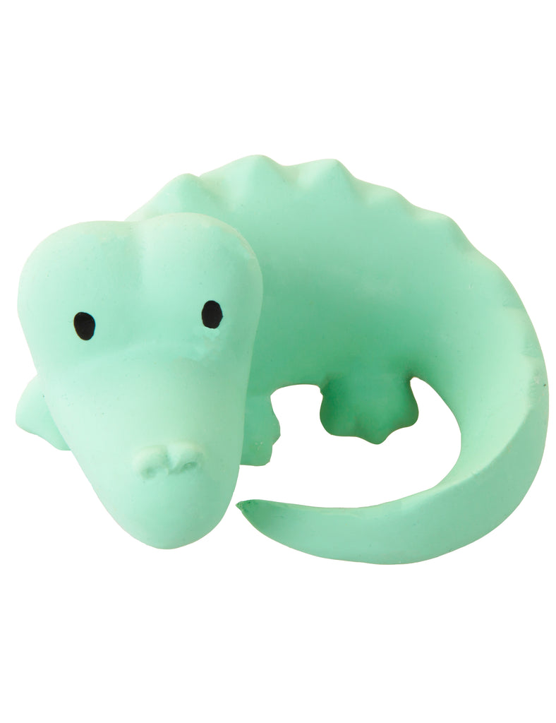 Alligator - My First Zoo Natural Rubber Toy