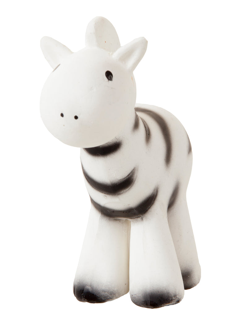 Zebra - My First Zoo Natural Rubber Toy