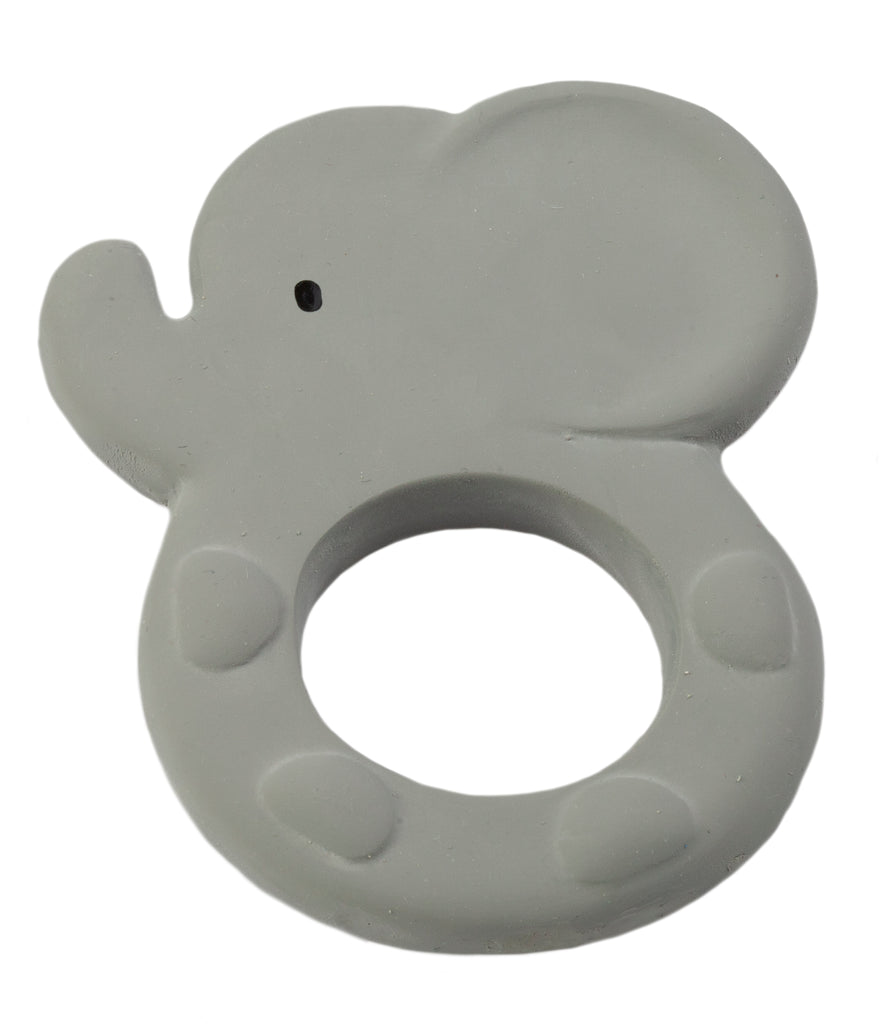 Elephant - Natural Rubber Teether