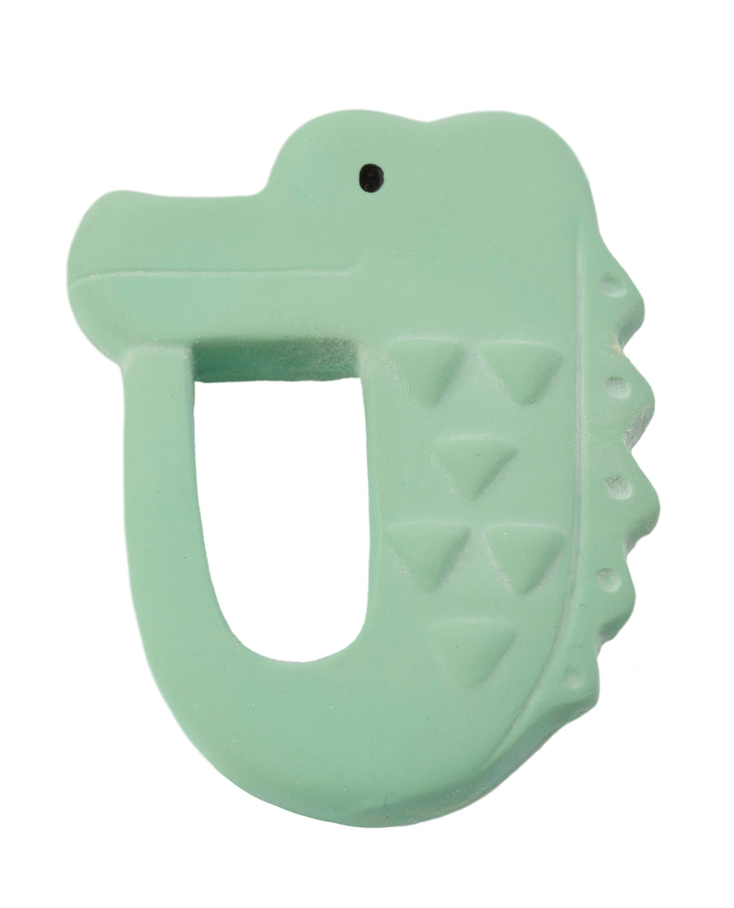 Alligator - Natural Rubber Teether
