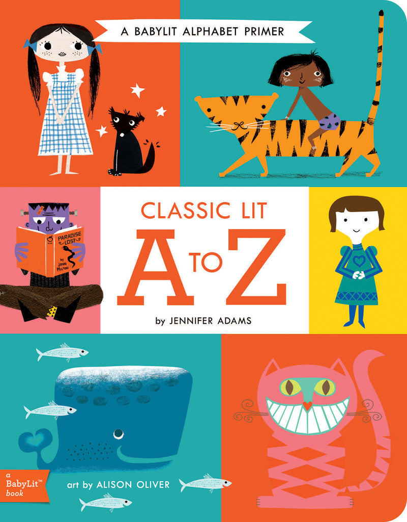 Classic Lit A to Z: BabyLit Board Book