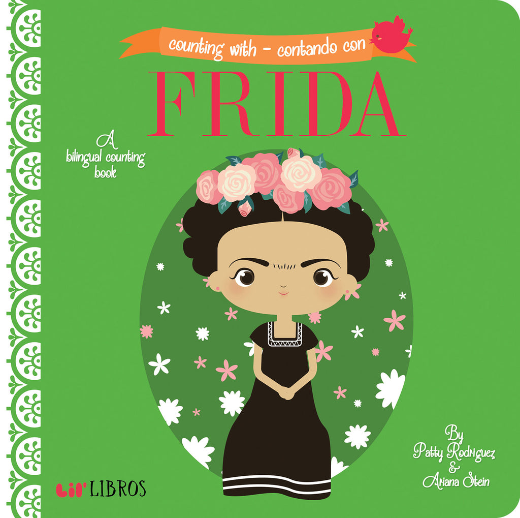 Counting With / Contando Con Frida - Board Book