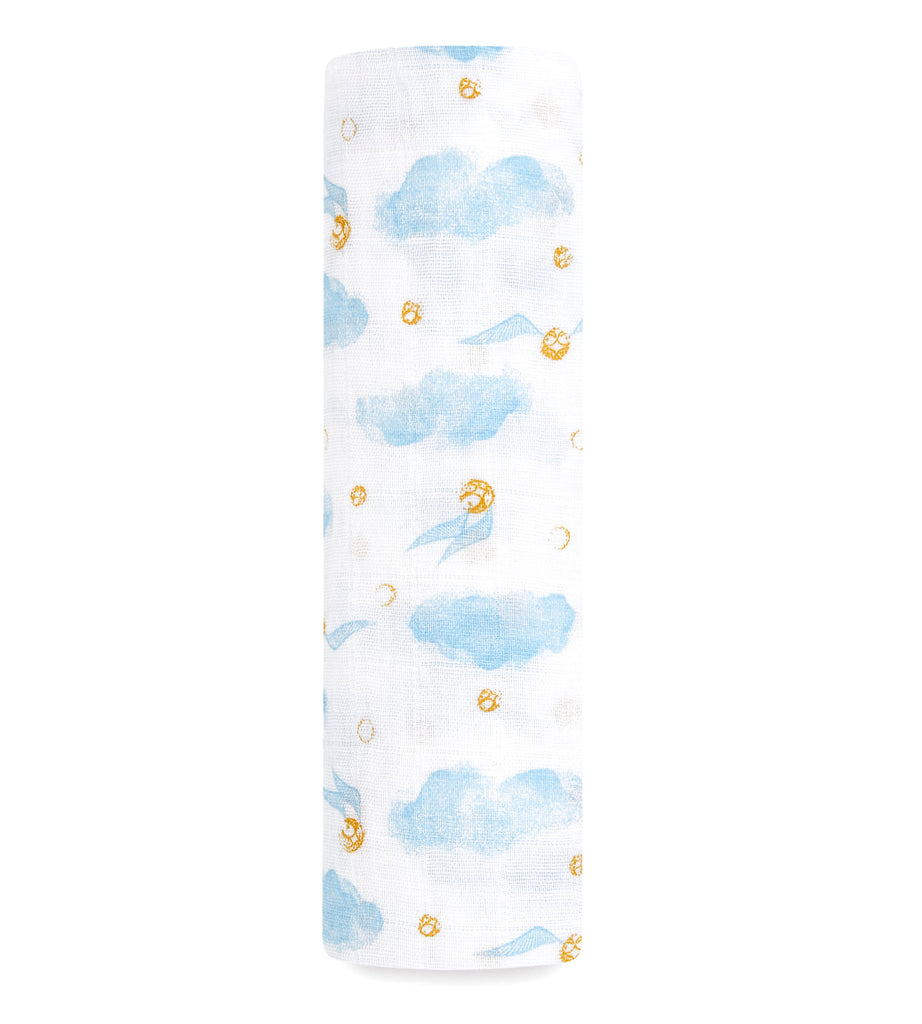 Aden + Anais classic swaddle | Harry Potter™ snitch dot limited edition