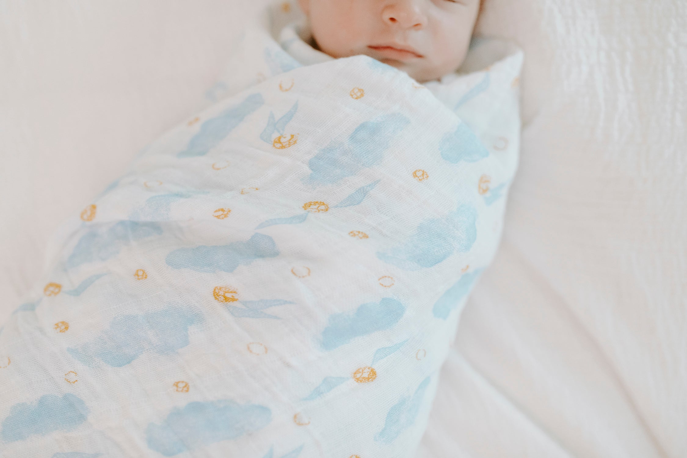 Aden /& Anais Classic Dream Muslin Baby Blanket Harry Potter Snitch Dot NEW