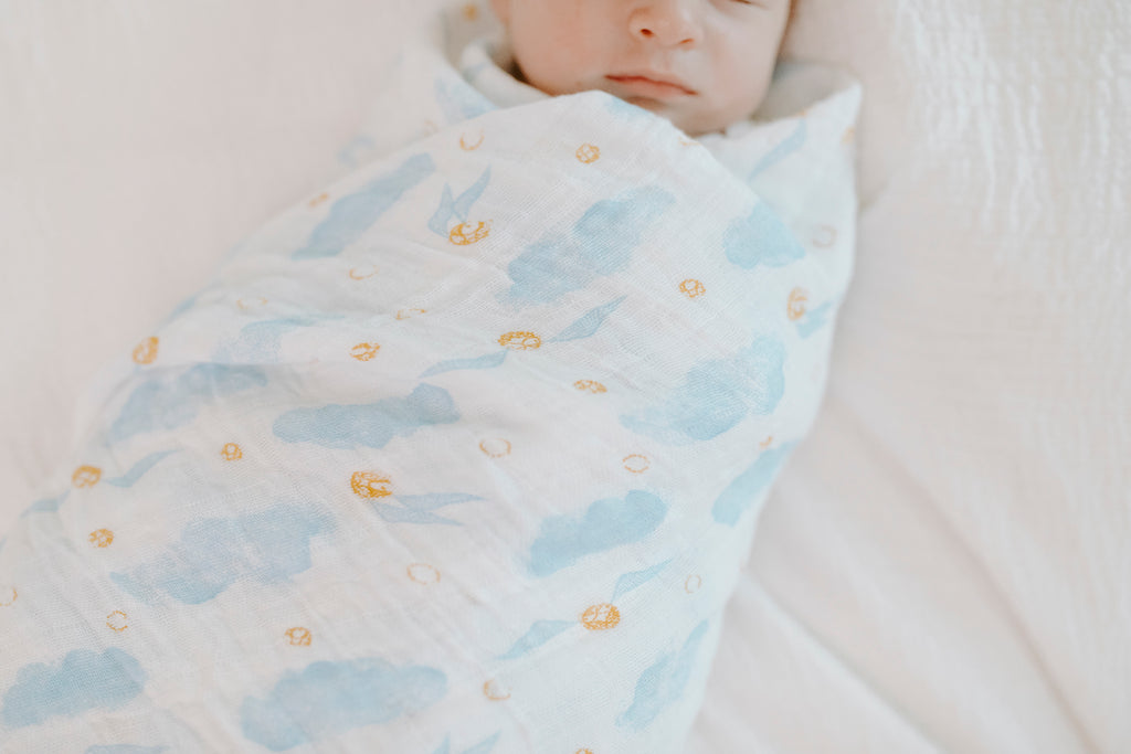 Aden + Anais snitch dot classic swaddle | Harry Potter™