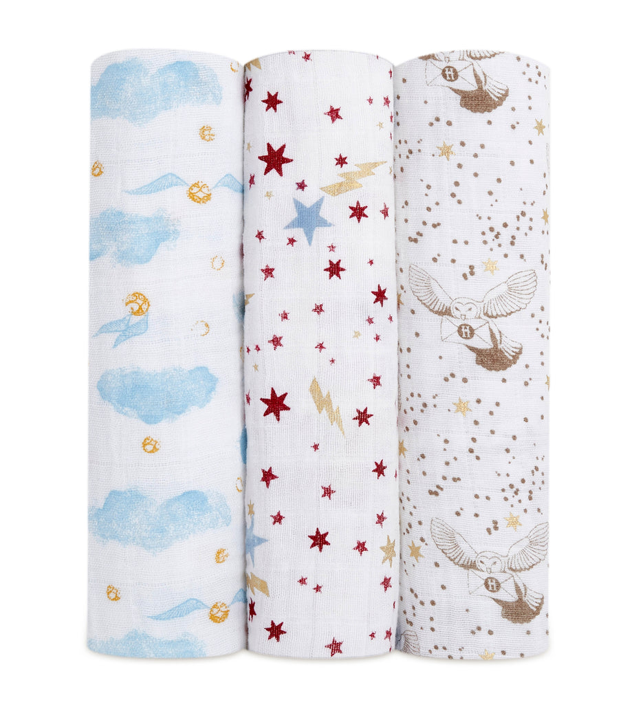 Aden + Anais classic 3-pack swaddle | Harry Potter™