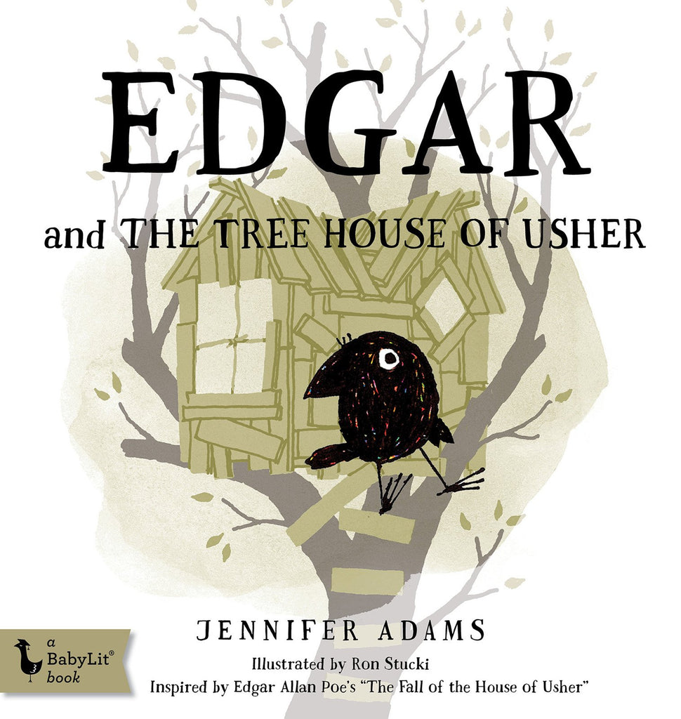 Edgar and the Tree House of Usher: A BabyLit® Board Book
