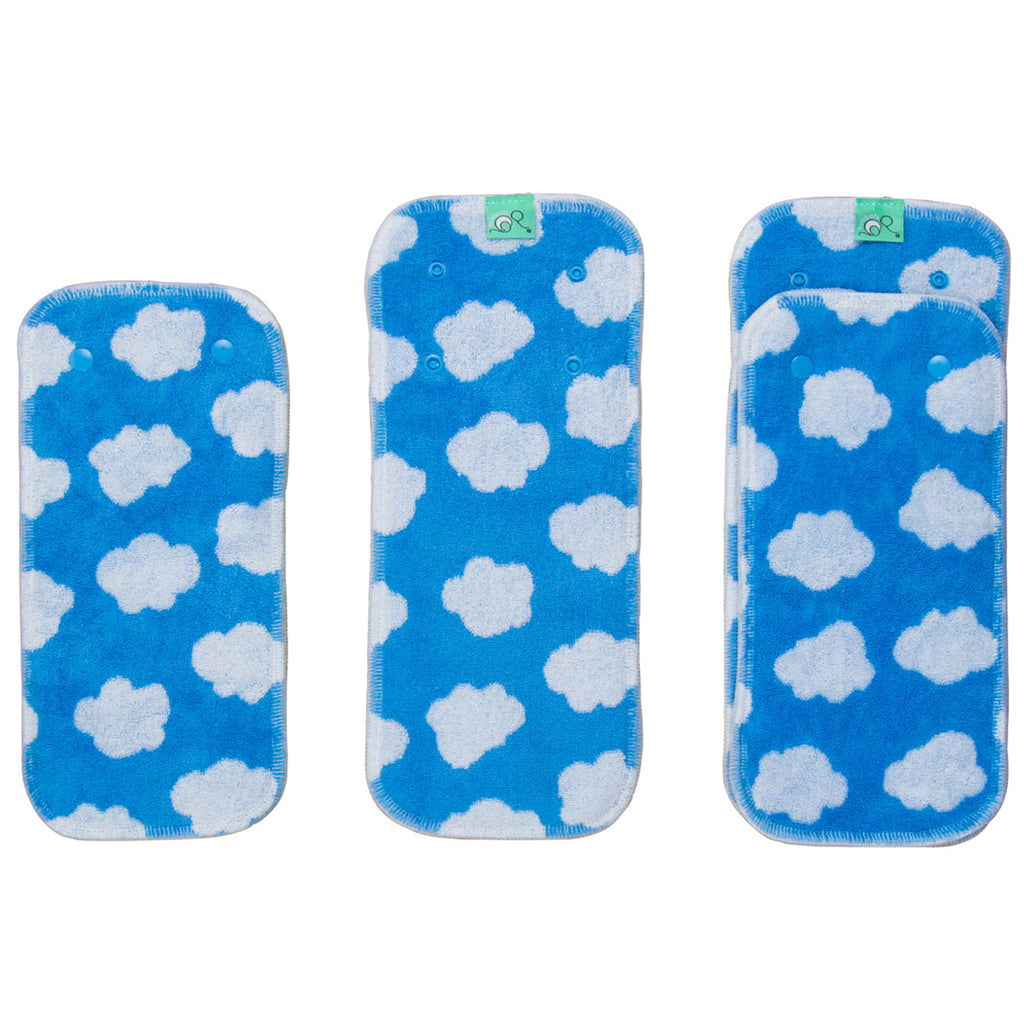 TotsBots PeeNut Day to Night Absorbent Pad - Matchy Prints