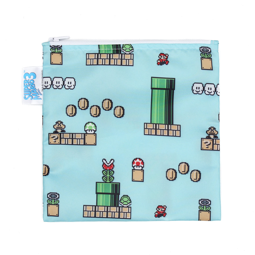Nintendo Reusable Single Snack Bag, Large